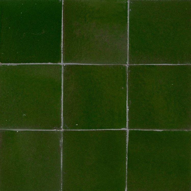 Zelliges victoriangreen groen 10 x 10 cm per m2 online bestellen tegelinfo - Groene metro tegels ...