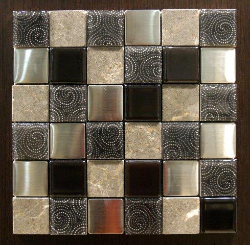 Keuken tegels keuken mozaiek inspirerende foto 39 s en idee n van het interieur en woondecoratie - Bruine en beige badkamer ...