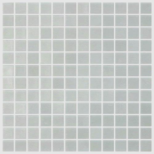Badkamer Gordijn Rails ~ Mat licht witgrijs  Mat light Grey 909 mozaiek 2,5 x 2,5 cm online