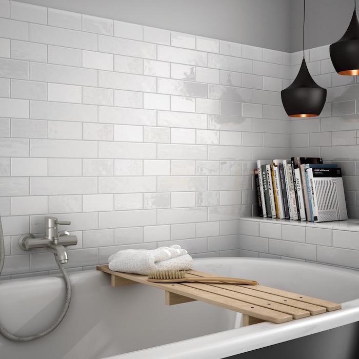 Basic tile mat white wit 7,5 x 30 cm online bestellen - TEGELinfo