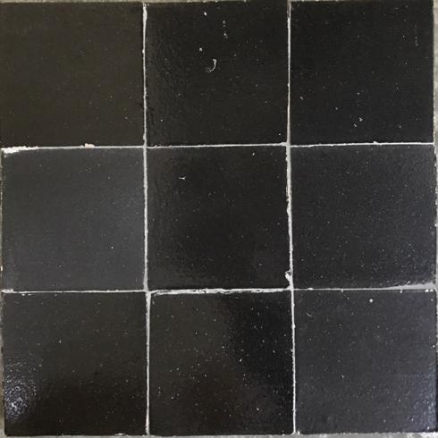 Zelliges Negro Zwart Mat Glans 10 X 10 Cm Per 05 M2 Online