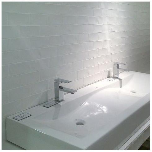 Half Tile mat white wit 7,5 x 15 cm online bestellen - TEGELinfo