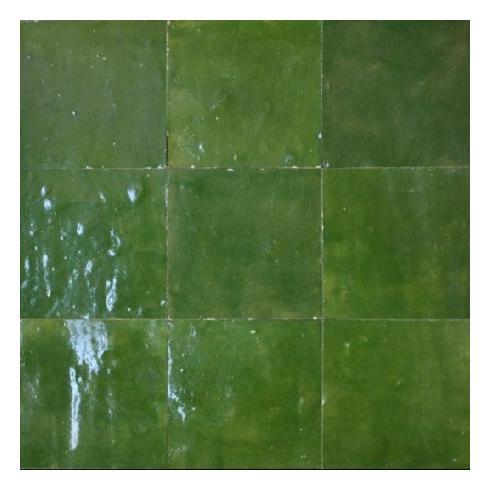 Zelliges vitoriangreen groen 10 x 10 cm per m2 online bestellen ...