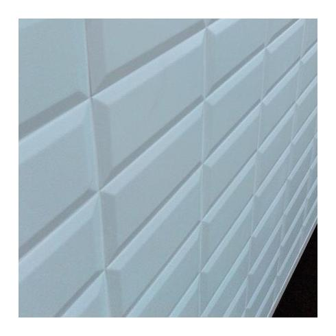 Metrotegel blanco wit mat 7 5 x 15 cm per 0 5 m2 online for Matte tegels