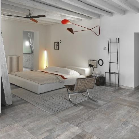 Houtlook tegel woodstock grey 60 x 60 cm sale online bestellen tegelinfo - Lichtgrijze gang ...