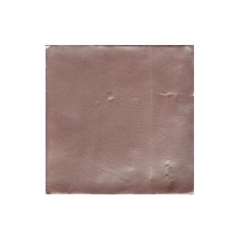 Metallic copper wandtegel 10 x 10 cm per 0,5 m2