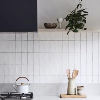 Half tile / brick wandtegels online bestellen - TEGELinfo