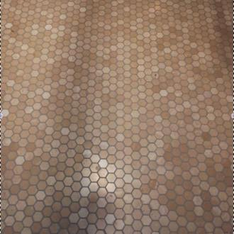 Hexagonal 6 kant noten wand - & vloertegel 5 x 5 per m2