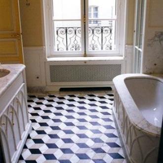 3D Escher Retrolook vloertegel 20 x 20 cm per m2 online bestellen ...