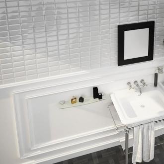 Hexagon zwart mat wand en vloertegel 17 5 x 20 cm per m2 online bestellen tegelinfo - Tegel metro wit ...