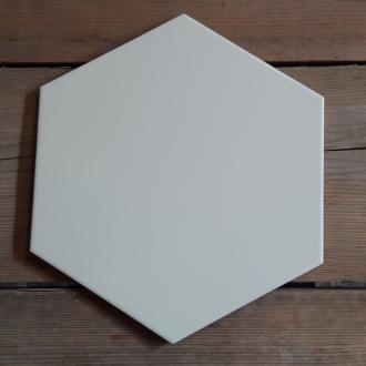 Hexagon XL wit mat wand- en vloertegel 25,8 x 29 cm per m2