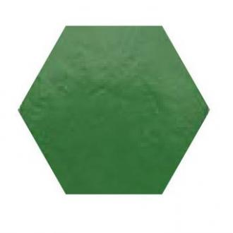 Hexagon XL glanzend grasgroene  wandtegel 28,5 x 32,5 cm per m2