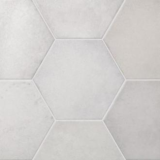 Hexagonaal London mat wit wand- en vloertegel 17,5 x 20 cm per 0,7 m2