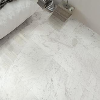Carrara marmerlook mat 60 x 60 cm per m2