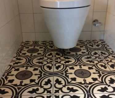 Gangtegels en hal tegels online bestellen tegelinfo for Tegels wc voorbeelden